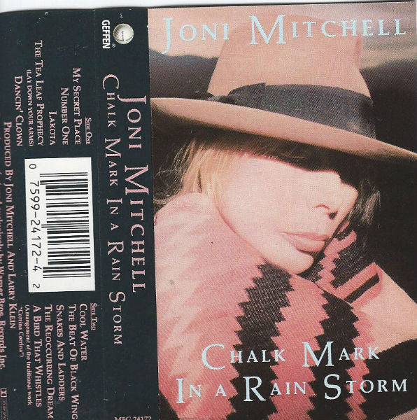 JONI MITCHELL_Chalk Mark In A Rain Storm