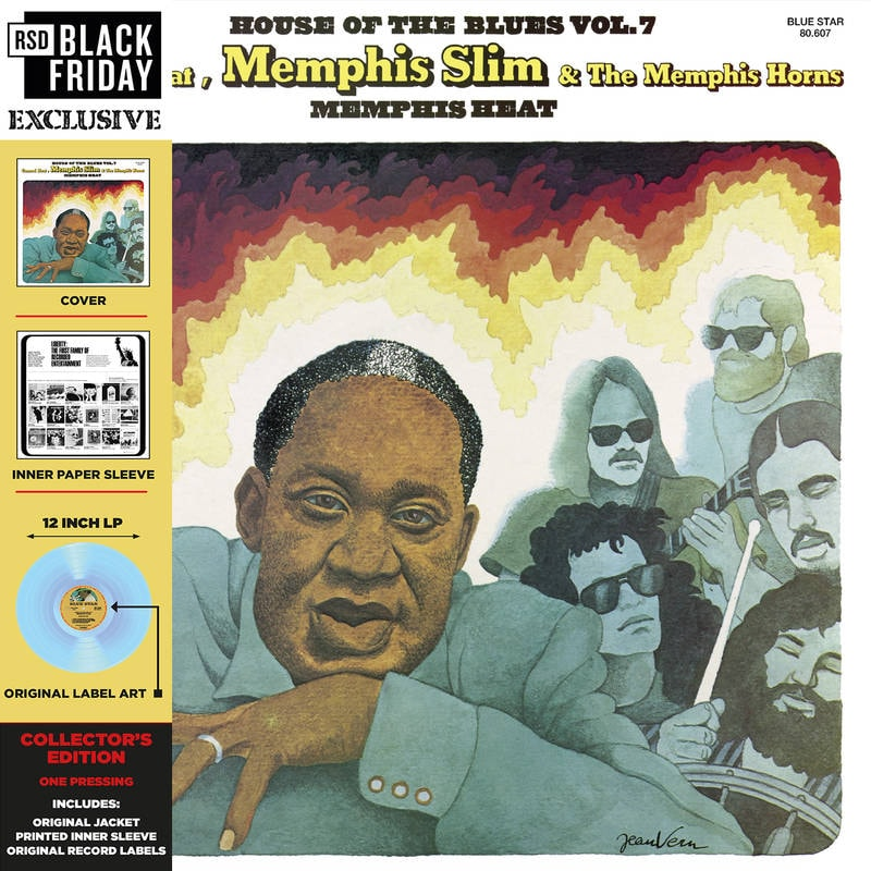 CANNED HEAT AND MEMPHIS SLIM - MEMPHIS HEAT_ (Pre-Order)