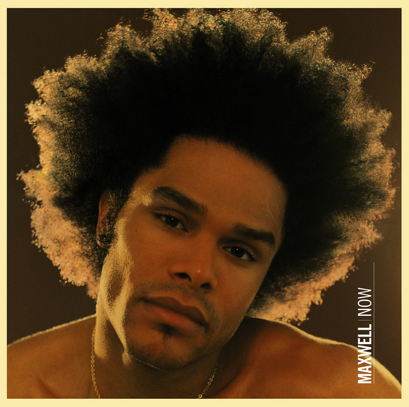 MAXWELL - NOW_ (Pre-Order)