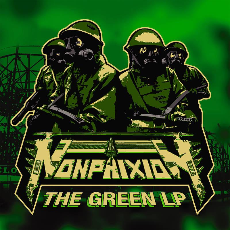 NON PHIXION - THE GREEN LP_ (Pre-Order)