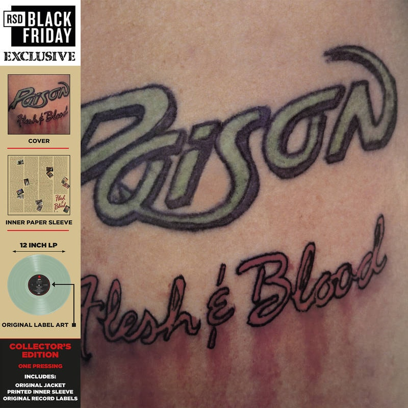POISON - FLESH AND BLOOD_ (Pre-Order)