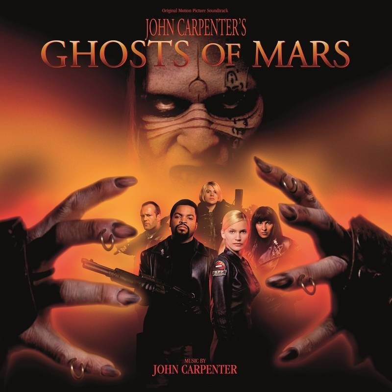JOHN CARPENTER - JOHN CARPENTER'S GHOSTS OF MARS (ORIGINAL MOTION PICTURE SOUNDTRACK)_ (Pre-Order)