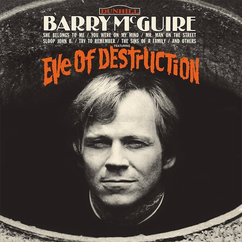 BARRY MCGUIRE - EVE OF DESTRUCTION_ (Pre-Order)