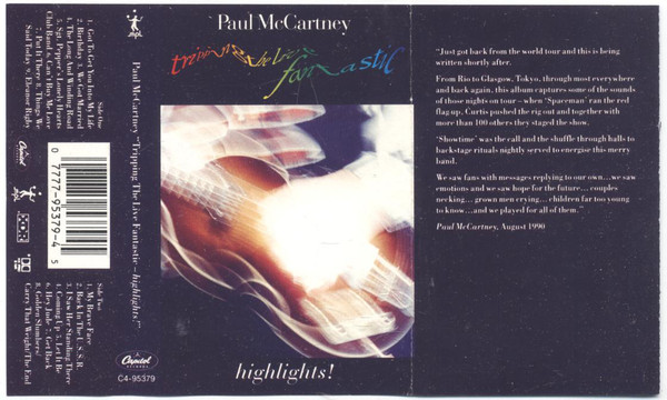 PAUL MCCARTNEY_Tripping The Live Fantastic