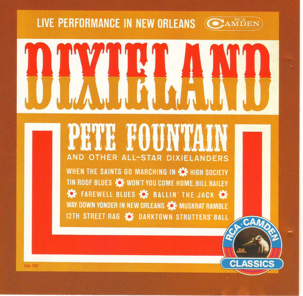PETE FOUNTAIN_Dixieland (Live Performance In New Orleans)