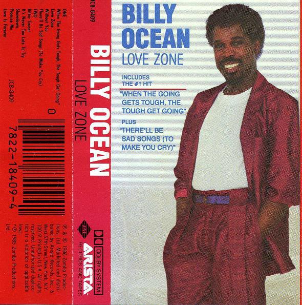 BILLY OCEAN_Love Zone
