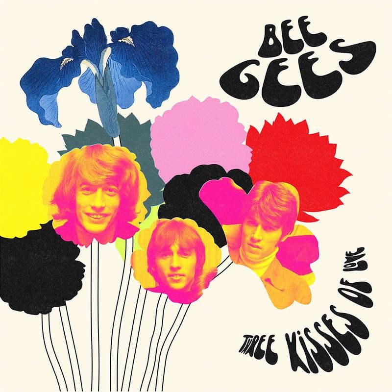 BEE GEES - THREE KISSES OF LOVE_ (Pre-Order)