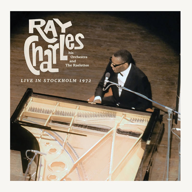 RAY CHARLES - LIVE IN STOCKHOLM_ (Pre-Order)
