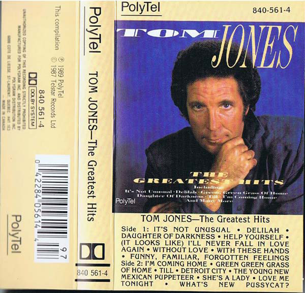 TOM JONES_The Greatest Hits