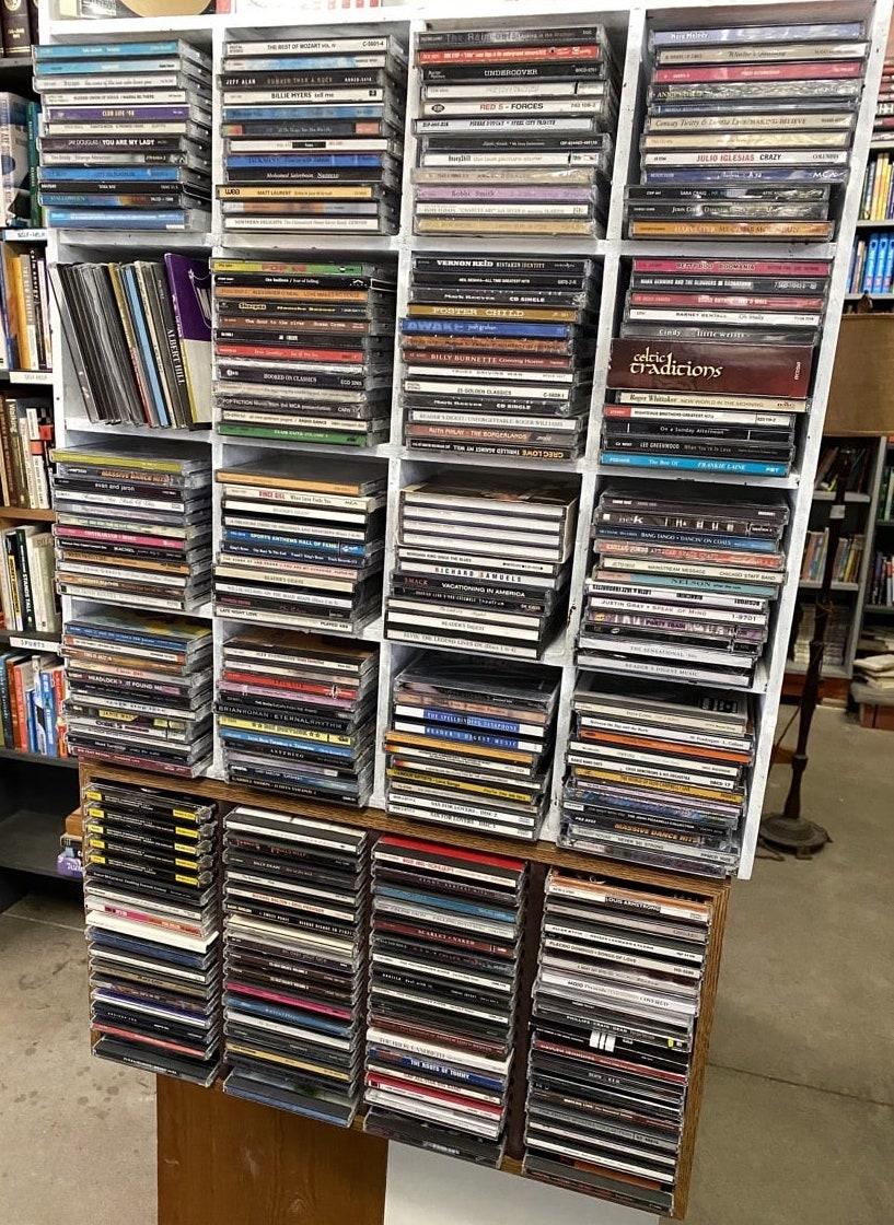 VINTAGE CASSETTE HOLDER STORAGE_Holds 24 Cassettes