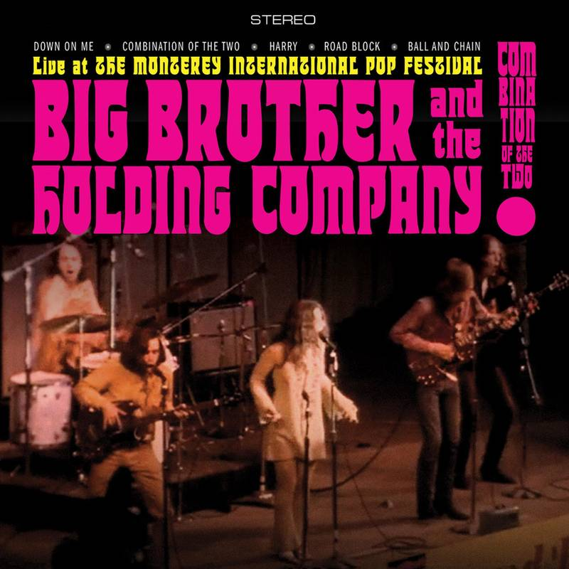 BIG BROTHER AND THE HOLDING COMPANY (FEATURING JANIS JOPLIN) - COMBINATION OF THE TWO: LIVE AT THE MONTEREY INTERNATIONAL POP FESTVAL_ (Pre-Order)