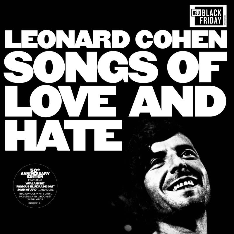 LEONARD COHEN - SONGS OF LOVE AND HATE (50TH ANNIVERSARY)_ (Pre-Order)
