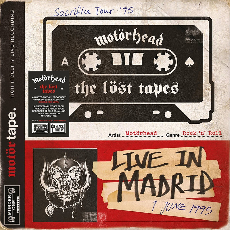 MOTORHEAD - THE LOST TAPES VOL.1 (LIVE IN MADRID 1995)_ (Pre-Order)