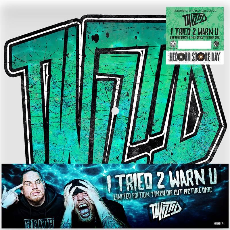 TWIZTID - I TRIED 2 WARN U_ (Pre-Order)