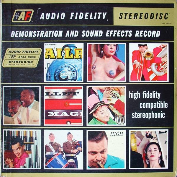 VARIOUS ARTISTS_Demonstration And Sound Effects Record