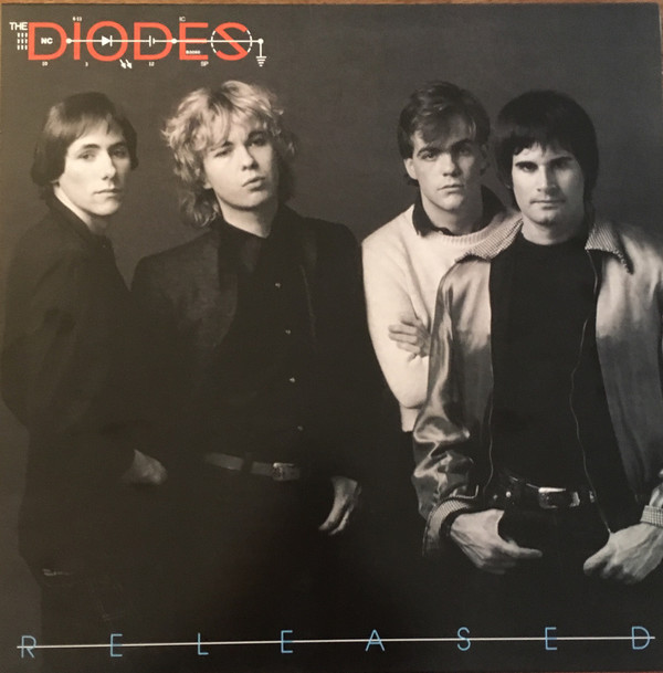 THE DIODES_Released _Red Vinyl_ New Reissue Nov 2017