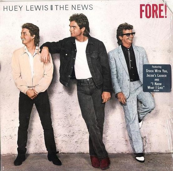 HUEY LEWIS AND THE NEWS_Fore!