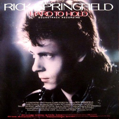 RICK SPRINGFIELD_Hard To Hold Ost