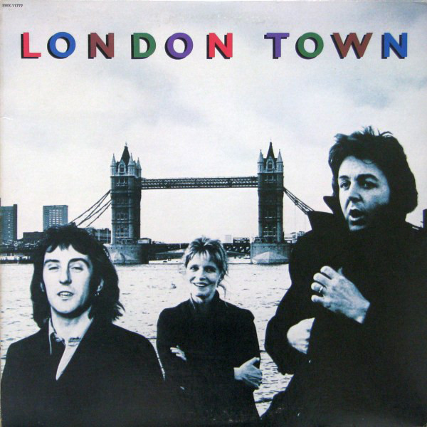 WINGS_London Town _W/Printed Inner Sleeve_