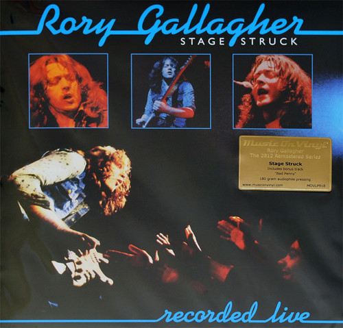 RORY GALLAGHER_Stage Struck _Remastered, 180 Gram_