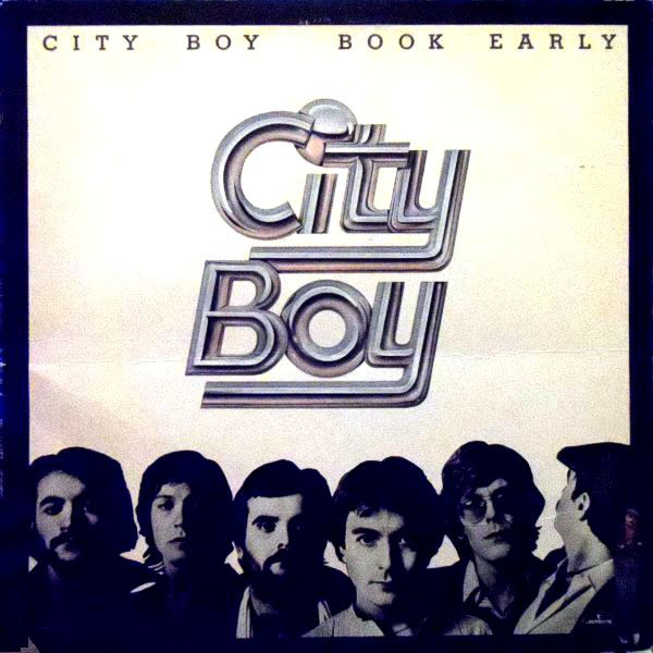 CITY BOY_Book Early _W/Orig Liner Notes_