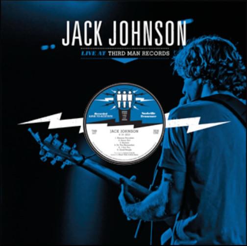 JACK JOHNSON_Live At Third Man Records - Limited Edition - Black/Blue