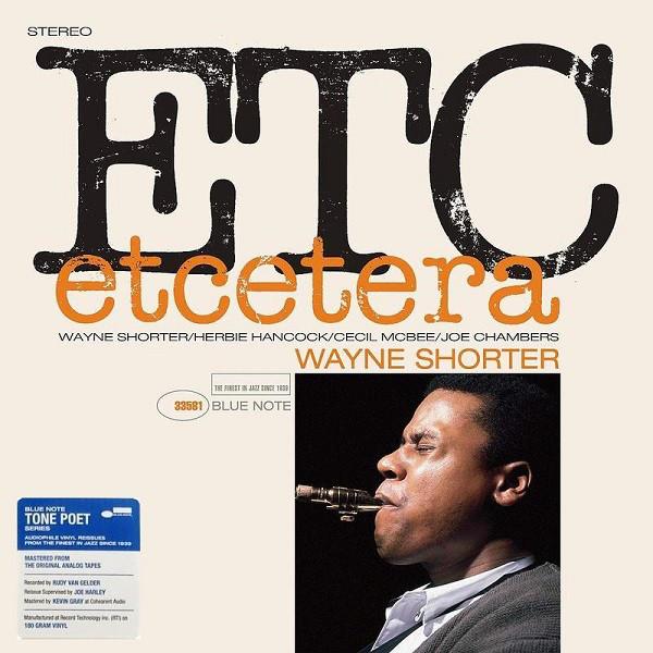 WAYNE SHORTER_Etcetera ( Blue Note Tone Poet Series)