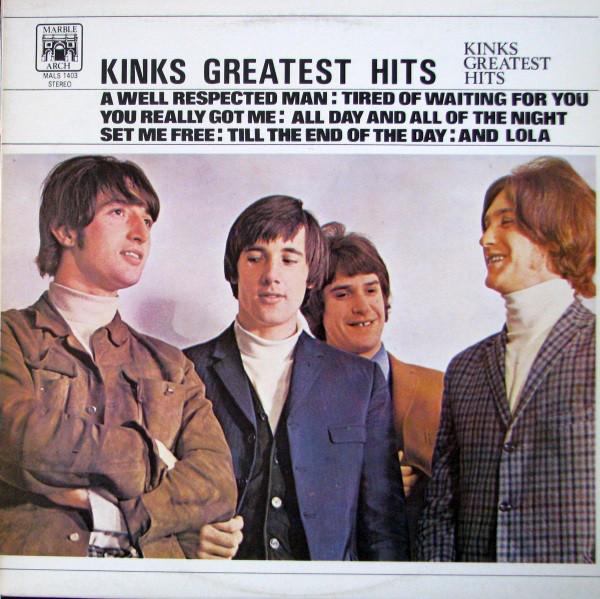 THE KINKS_Kinks Greatest Hits