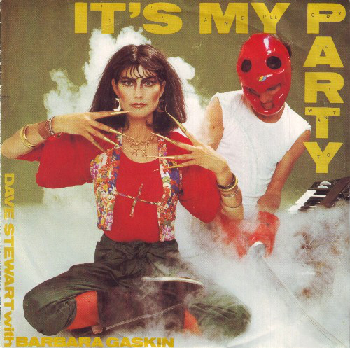 DAVE STEWART WITH BARBARA GASKIN_It's My Party