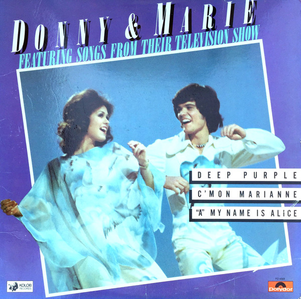 DONNY AND MARIE OSMOND_Donny And Marie Featuring Songs From Their Television Show