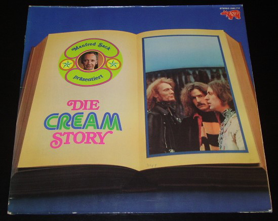 CREAM_Die Cream Story (Manfred Sack Presentiert)