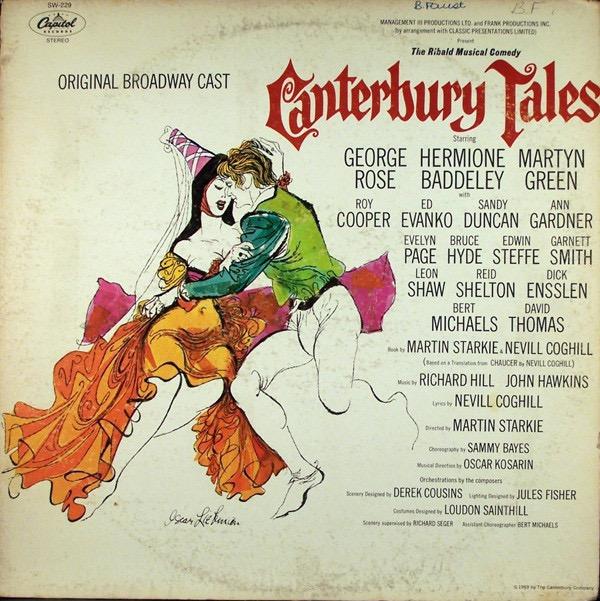 ROSE GEORGE_Canterbury Tales - Original Broadway Cast _1969, Still Sealed_