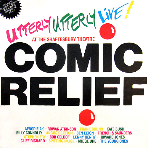 VARIOUS ARTISTS_Comic Relief