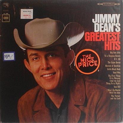JIMMY DEAN_Jimmy Deans Greatest Hits