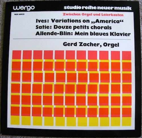 CHARLES IVES_Zwischen Orgel Und Leierkasten