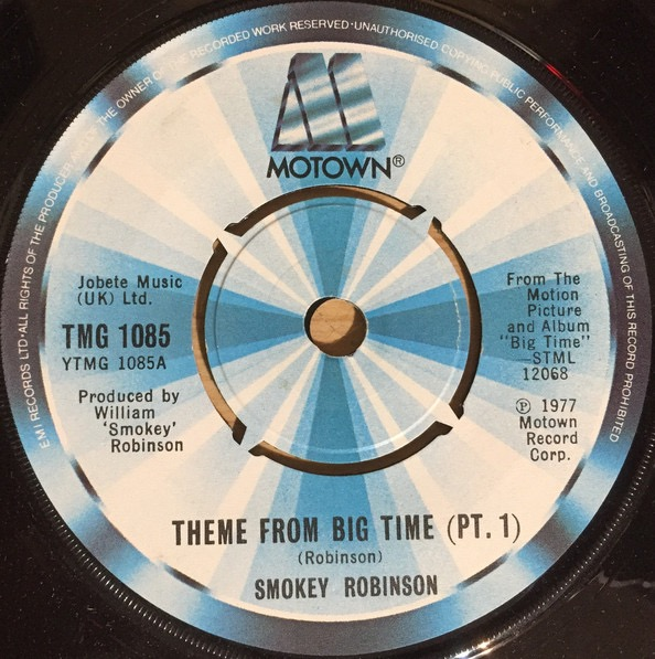 SMOKEY ROBINSON_Theme From Big Time _12