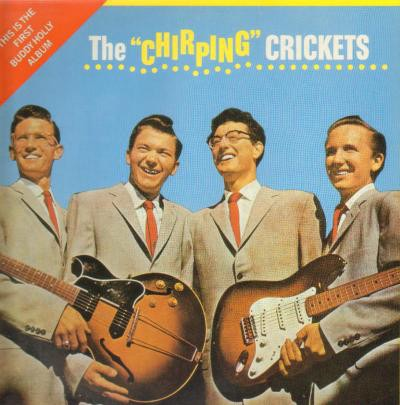 BUDDY HOLLY_Chirping Crickets + 4 bonus tracks
