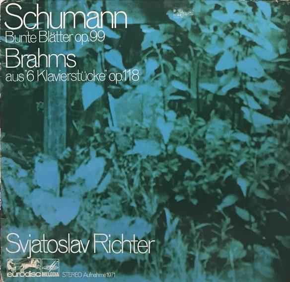 RICHTER SVJATOSLAV_Schumann / Brahms
