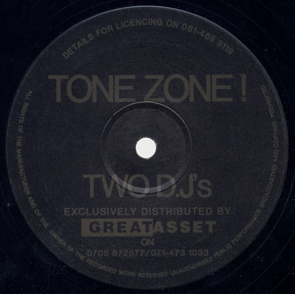 TWO D.JS_Tone Zone !