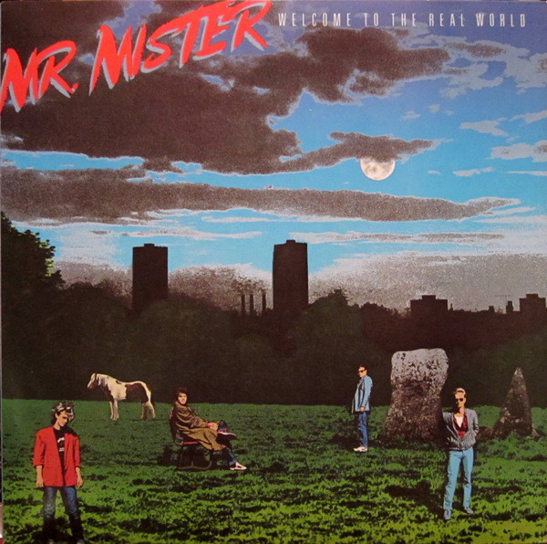 MR. MISTER_Welcome to the Real World (w/orig insert)