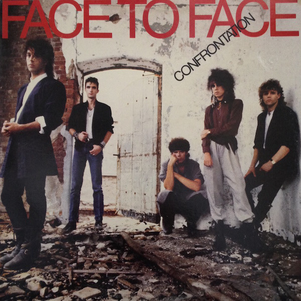 FACE TO FACE_Confrontation _W/Orig Inner Sleeve_