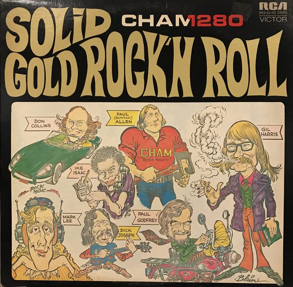 VARIOUS ARTISTS_Solid Gold Rock N Roll