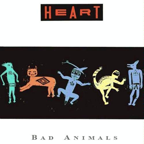 HEART_Bad Animals _W/ Printed Inner Sleeve_
