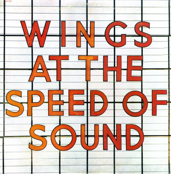 WINGS_Wings At The Speed Of Sound _W/Orig Inner Sleeve_