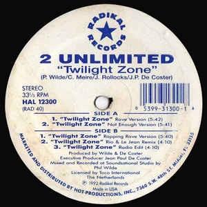 2 UNLIMITED_Twilight Zone