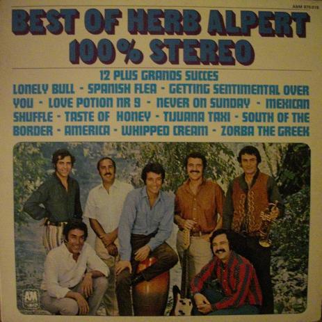 HERB ALPERT_Best Of Herb Alpert 100% Stereo