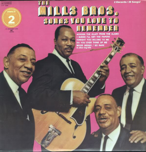 THE MILLS BROS._Songs You Love To Remember