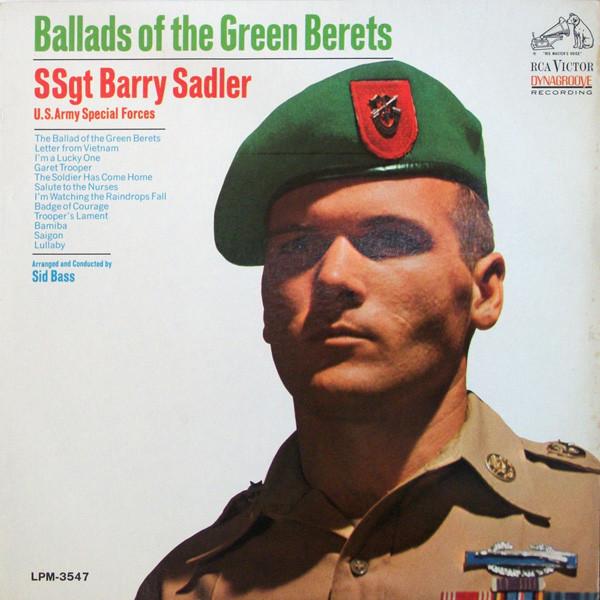 SSGT BARRY SADLER_Ballads Of The Green Berets