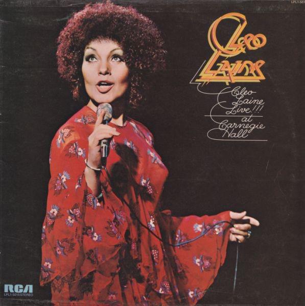 CLEO LAINE_Cleo Laine Live!!! At Carnegie Hall