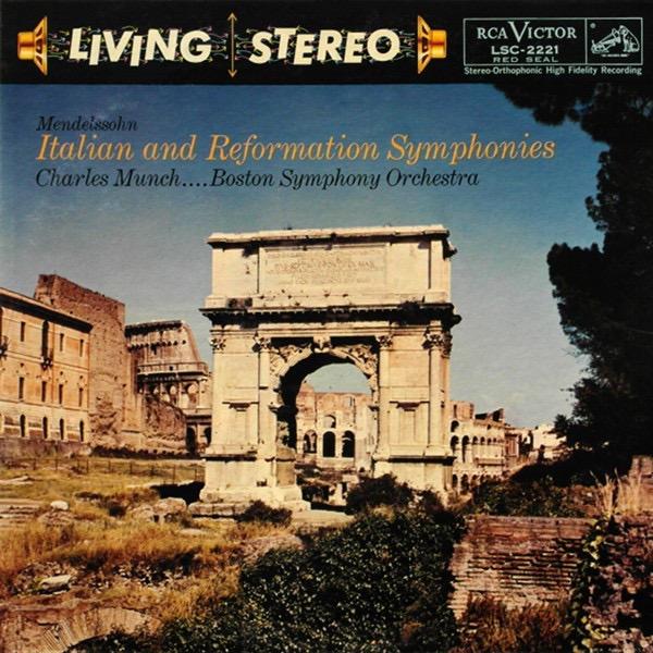 MENDELSSOHN-BARTHOLDY_Symphony No. 4 Italian, Symphony No. 5 Reformation